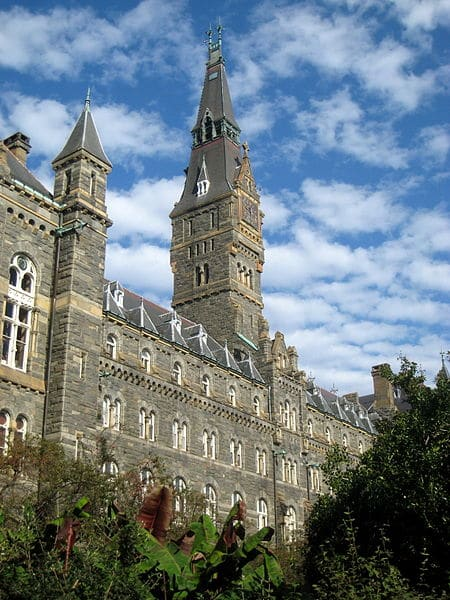 Georgetown university application essay requirements
