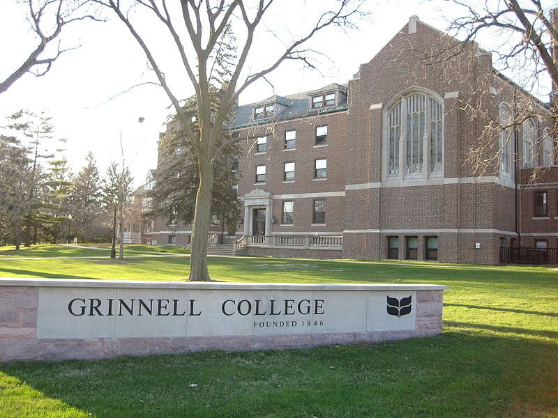 Grinnell College, Admission to Grinnell, Grinnell Bests Ivies
