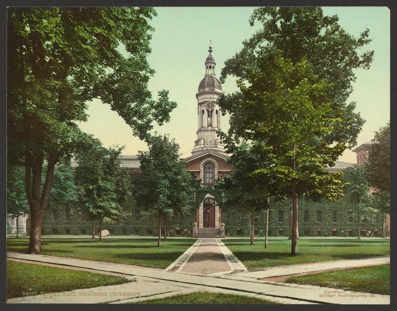 Woodrow Wilson at Princeton, Princeton Woodrow Wilson, Princeton University Woodrow Wilson School