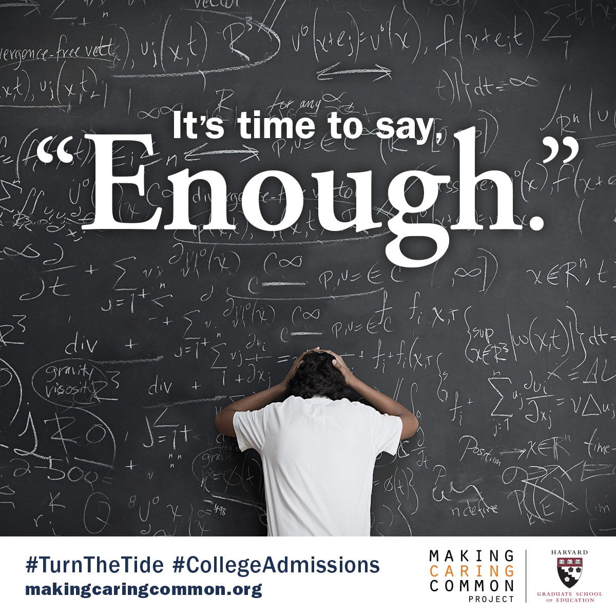 Turn the Tide, Admissions and Turn the Tide, Turning the Tide in College Admissions