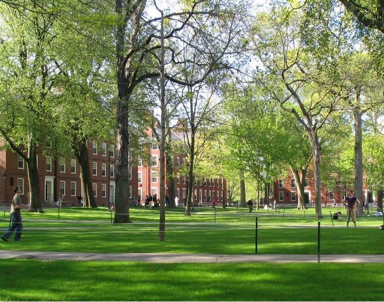 Harvard Grad, Harvard Thanks Teacher, Harvard Commencment
