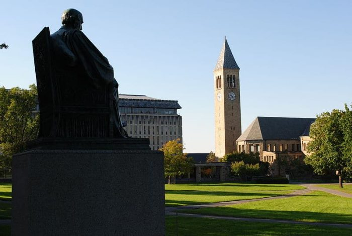 Cornell 2023, Admission to Cornell, Cornell University 2023